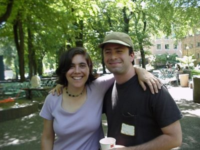 Ben and Liza back in the day.
